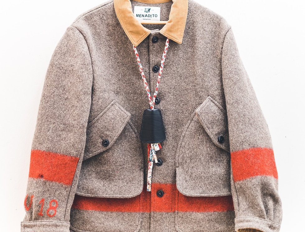 Swiss blanket work jacket