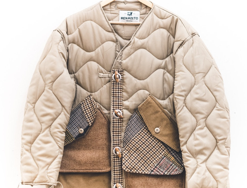 Liner Natural Sand + Patch Wool