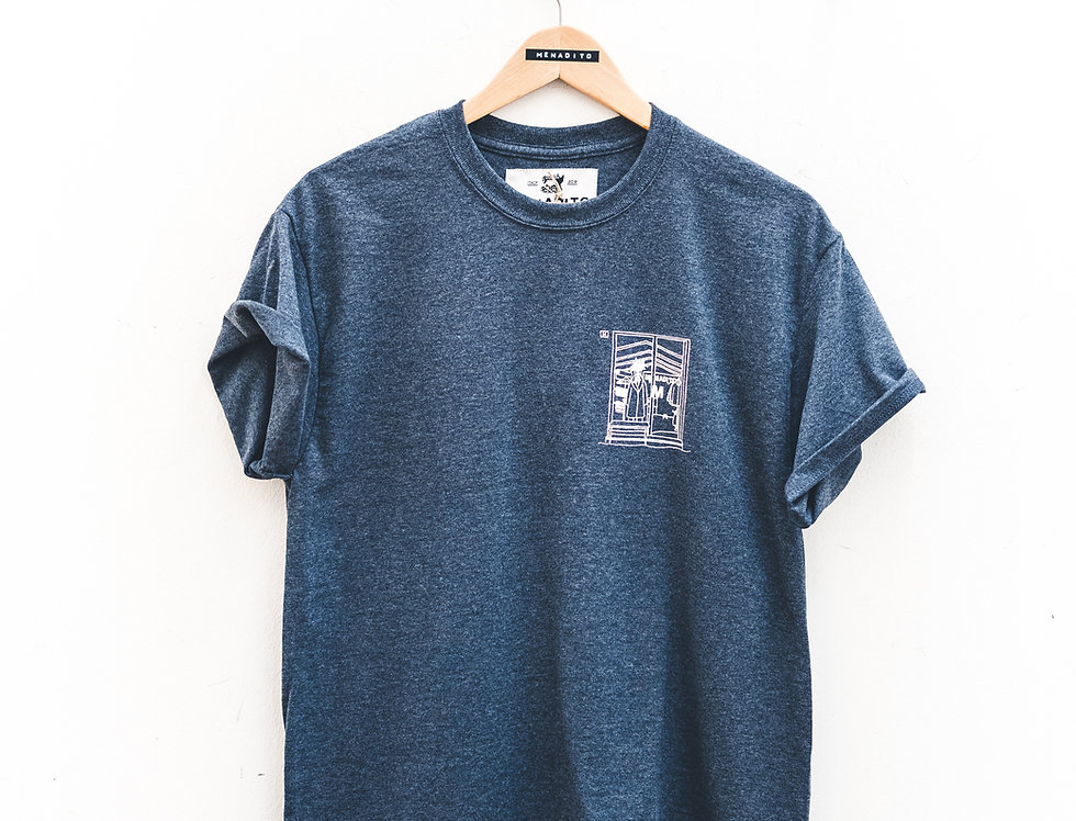 T-Shirt BlueGray Display