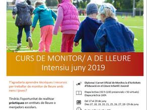 Curs monitors/es de lleure 2019