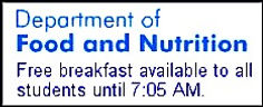 Department of Food and Nutrition Logo
