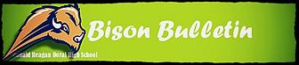 Bison Bulletin Logo