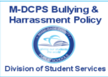 MDCPS Bullying and Harrassment Policy Logo