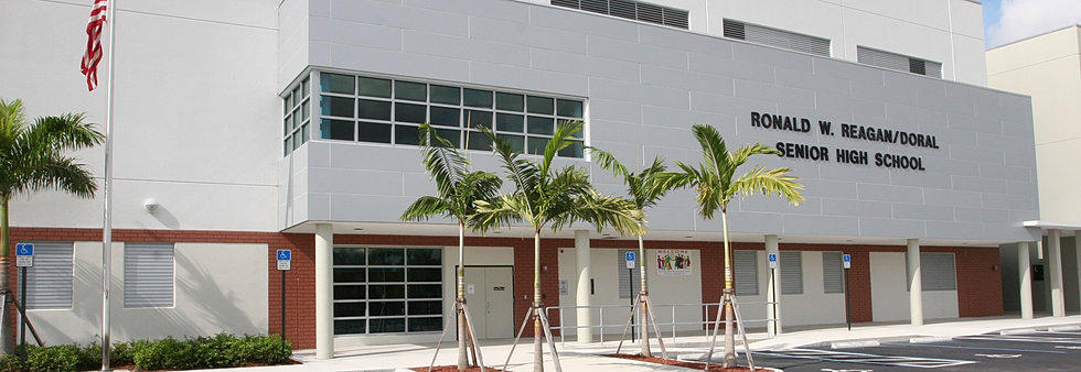 Image result for Ronald Reagan High School in Doral