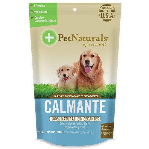 Calmantes naturales -Perros Medianos y Grandes - Bolsa de87.2 g -21 pastillas