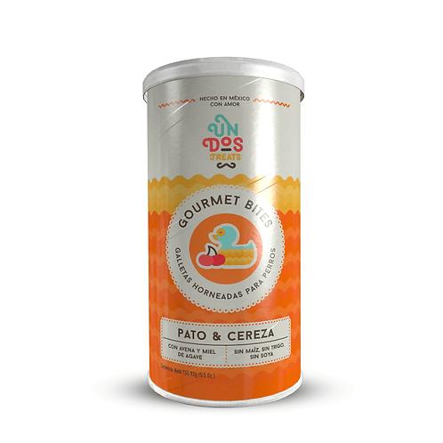 Galletas Gourmet Horneadas de Pato y Cereza 156 g - Para perros