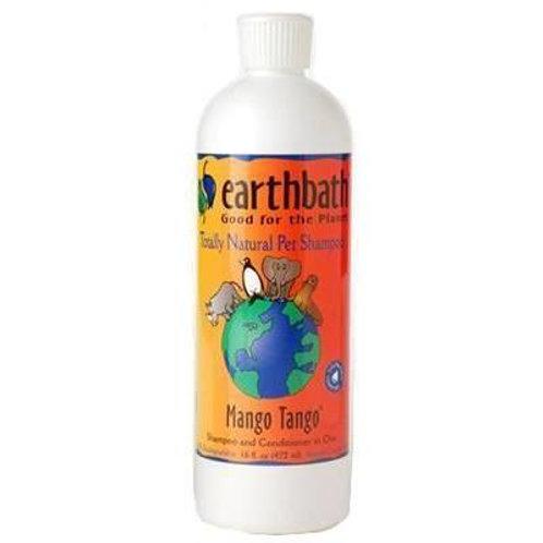 Shampoo Mango Tango Earthbath de 472 ml - Para Perros y Gatos
