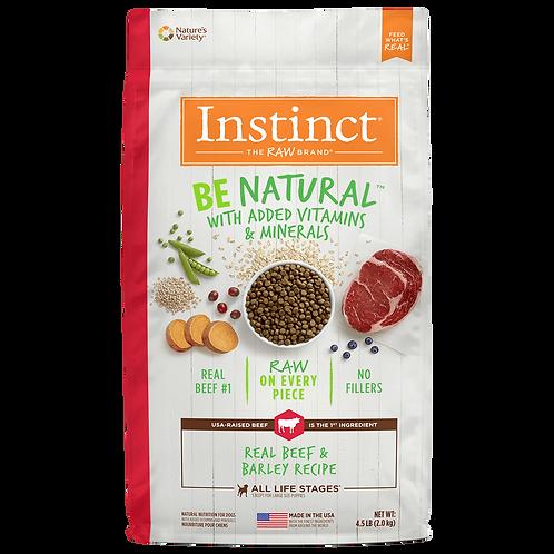 Instinct Be Natural Res - Presentaciones  4 y 25 lb - Para Perros