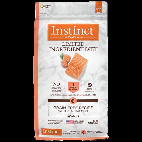 Instinct LID Salmón alimento hipoalergénico - Presentación: 20 lb - Para Perros