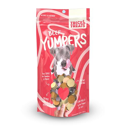 Yumpers de Trick & Treats: Res 100g - Para Perro