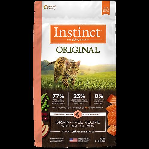Instinct Salmón - Presentación: 2 kg y 4.5 kg - Para Gatos