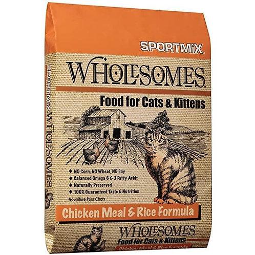 Sportmix Wholesomes Pollo y Arroz - Presentaciones:2 y 6.8 kg.- Par