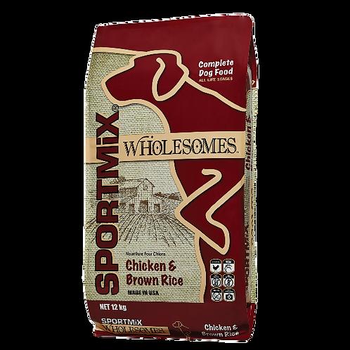 Sportmix Wholesomes Pollo y Arroz Integral  de 2 y 12 kg - Para Perros