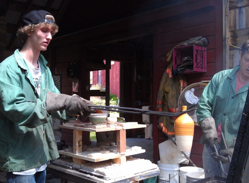 Lebanon HS Ceramics Students Learn From a Master
