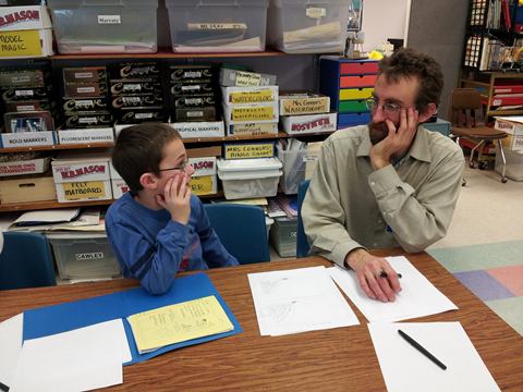 Superheroes and NH Wildlife: Creating Comics in the Classroom