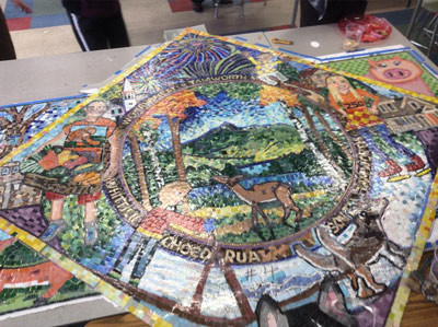 250 Years of Tamworth on Display in Community Mosaic