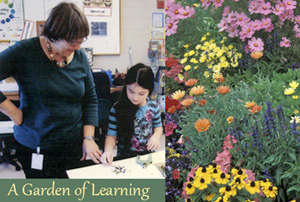 Garden of Learning at Derry's Earnest Barks Elementary School