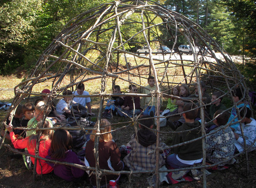 Students of Madison Elementary Connect with the Outdoors and Their Inner Poet