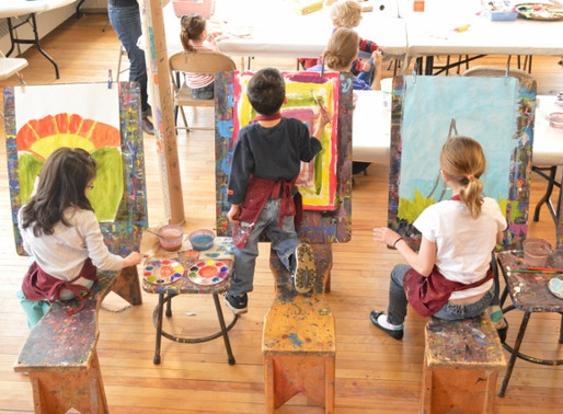 Kids and Caregivers Create: Open Studio at the AVA Gallery