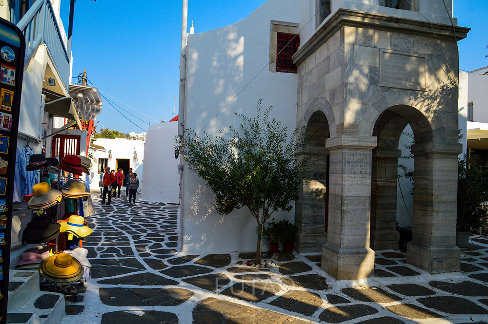 Mainstreet Mykonos, Greece
