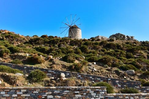 Ancient Windmill, Naxos, Greece