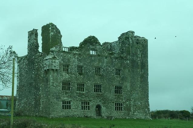 Delapitated Castle, Ireland