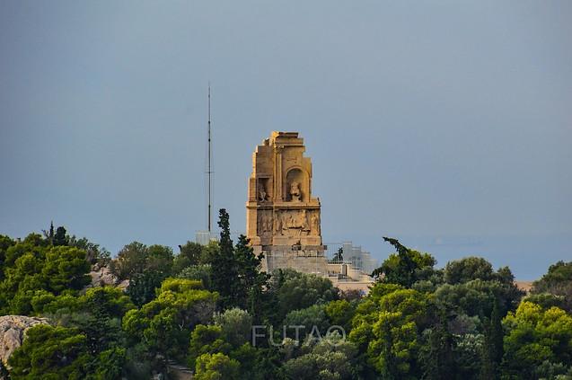 Philopappos Monument, Athens, Greece