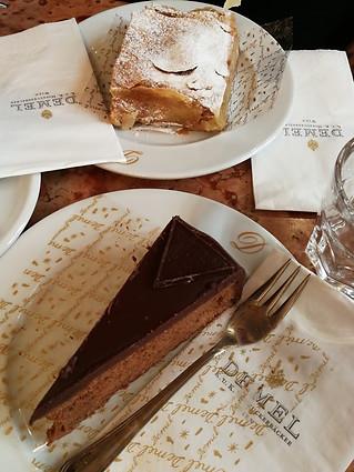 Famous Sachertorte and Strudel at Demel Bakery, Vienna, Austria