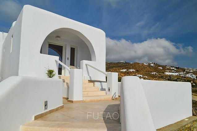 Our Honeymoon Hideaway Room at Rocabella Mykonos Resort, Mykonos, Greece