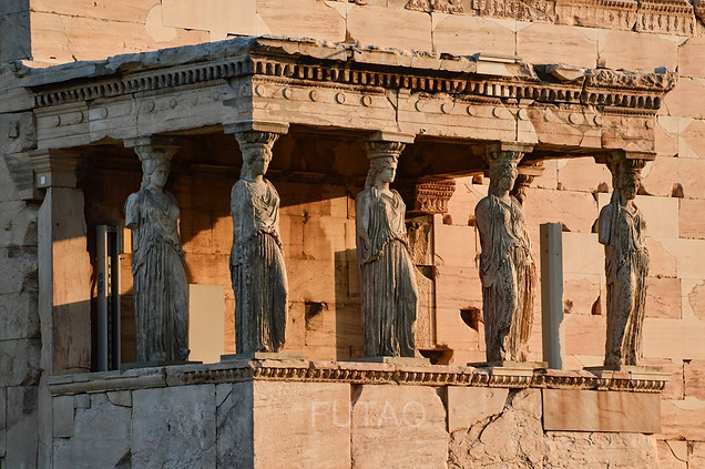 The Porch of the Maidens, Athens, Greece