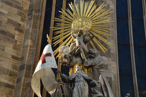 Detail of St. Stephen's Cathedral, Vienna, Austria