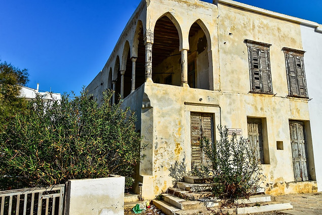 Delapitated building, Naxos, Greece