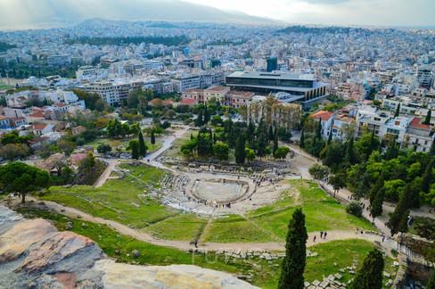 Dionysis Theater, Athens, Greece