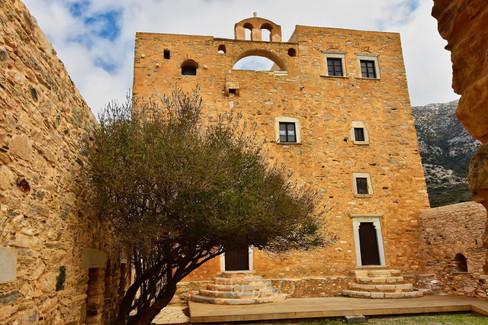 Byzantine Church, Naxos, Greece