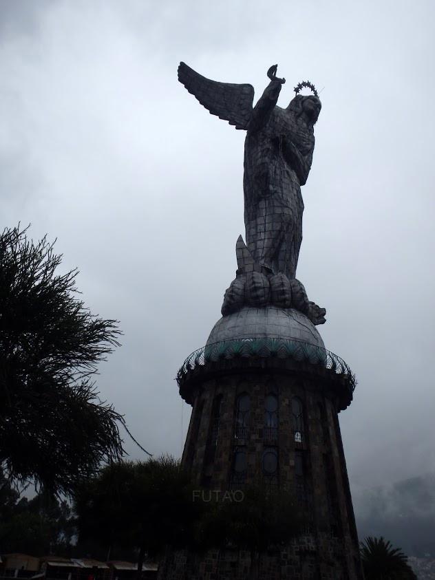 Virgin of El Panecillo, Quito, Ecuador