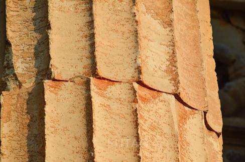 Column close-up, Athens, Greece