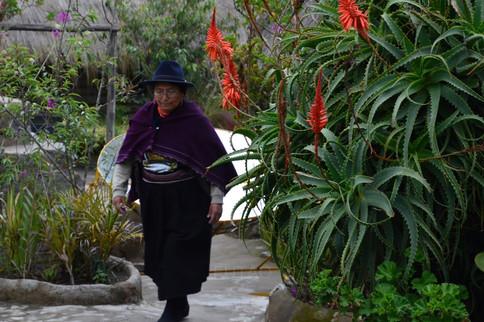 Native Dress, Quito, Ecuador