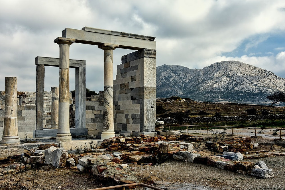 The Temple of Demeter, Naxos, Greece