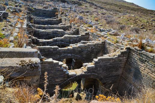 Ancient cistern, Delos, Greece