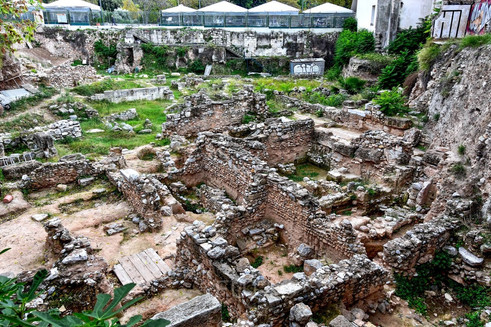 Ruins around Athens, Greece