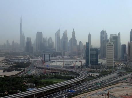 New Dubai view from The Dubai Frame