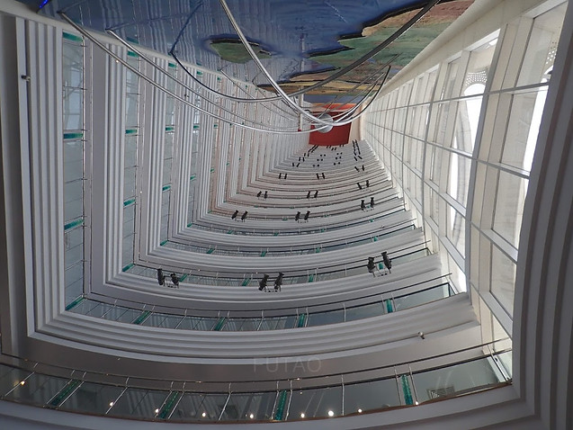 Inside Jumeriah Beach Hotel, Dubai
