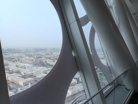 Old Dubai view from The Dubai Frame