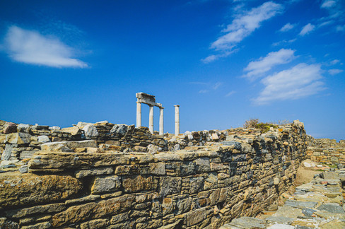 Temple of Poseidon, Delos, Greece