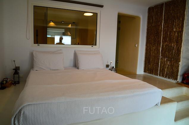 Inside Honeymoon Hideaway Room at Rocabella Mykonos Resort, Mykonos, Greece
