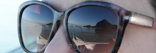 Reflection, Le Morne Mountain, Mauritius