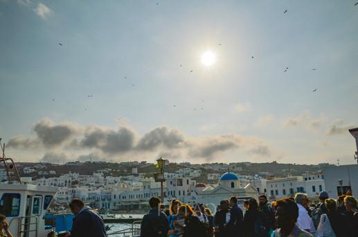 Mykonos Port to Delos, Mykonos, Greece