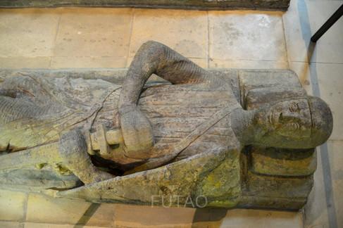 Effigy of a Knight, Templar Church, London, England