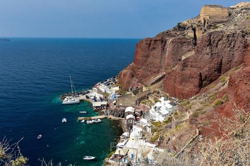 Ammoudi Bay, Santorini, Greece
