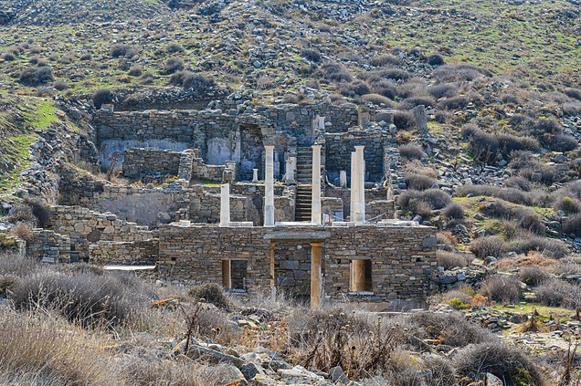 The House of Hermes, Delos, Greece